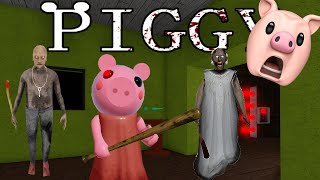 GRANNY CHAPTER TWO IN ROBLOX PIGGY BUILD MODE..