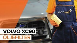 Så byter du motorolja och oljefilter, motor på VOLVO XC90 1 [GUIDE]