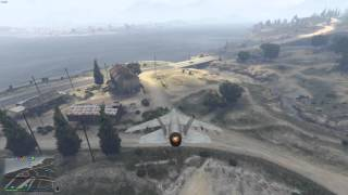 When you forgot your landing gear..... | Grand Theft Auto V Online PC