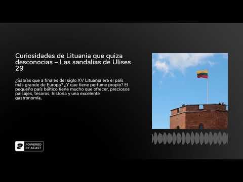 Curiosidades de Lituania que quiza desconocias – Las sandalias de Ulises 29