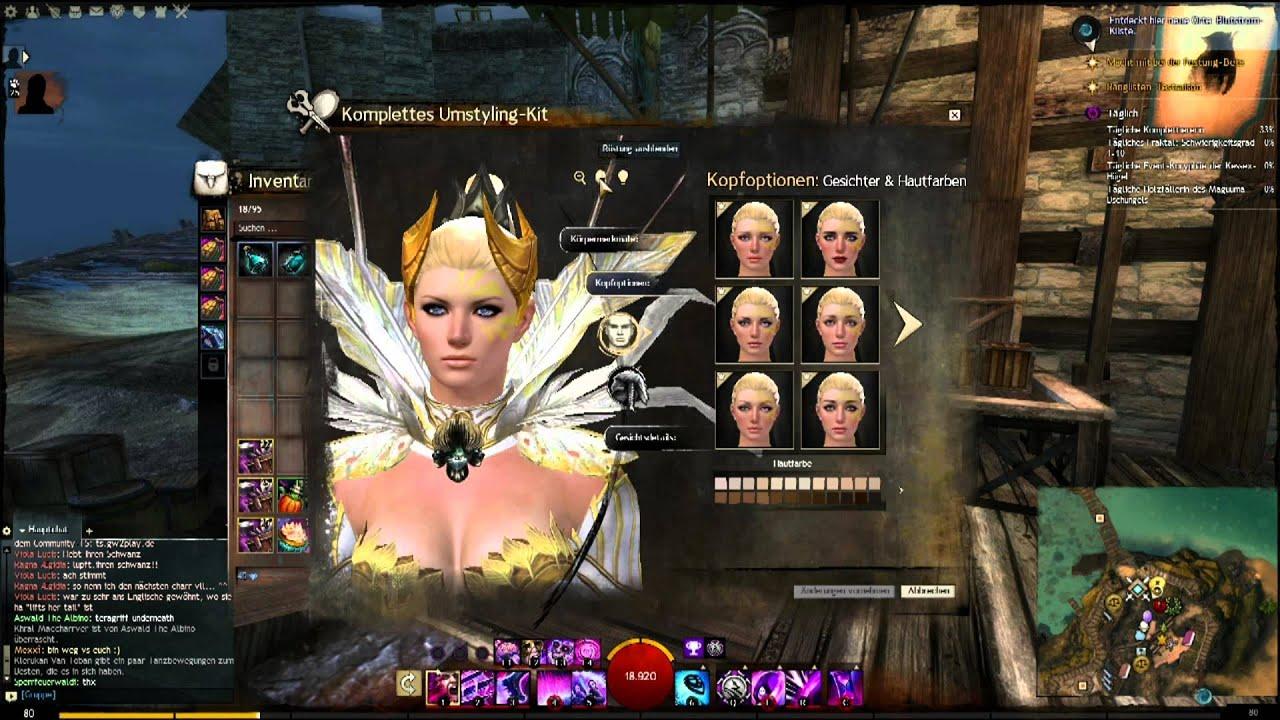 Guild Wars 2 Tyria Lets Play Neue Frisuren Neue