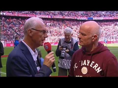 Franz Beckenbauer und Dr. Marcel Huber: FC Bayern TV