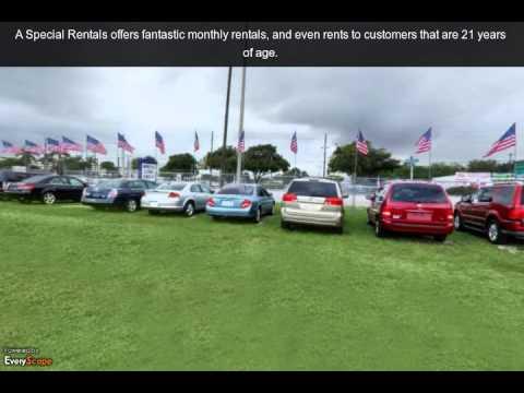 A Special Rentals | Ft. Lauderdale, FL | Car Rental