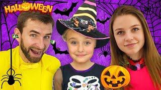 Sasha and pranks halloween and makeup
