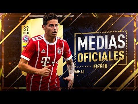 FIFA 18 | MEDIAS OFICIALES | 60-41