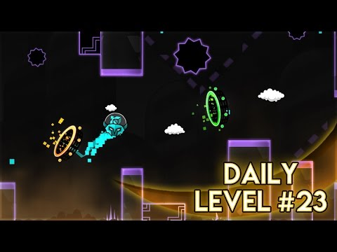"DAILY LEVEL #23 | Geometry Dash World - ""Massacre"" [Epic] by Peton 