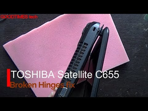 TOSHIBA Satellite C655 Hinge Repair