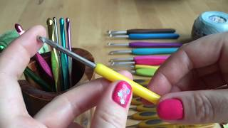 Уроки вязания крючком для начинающих. Как выбрать крючок и пряжу.