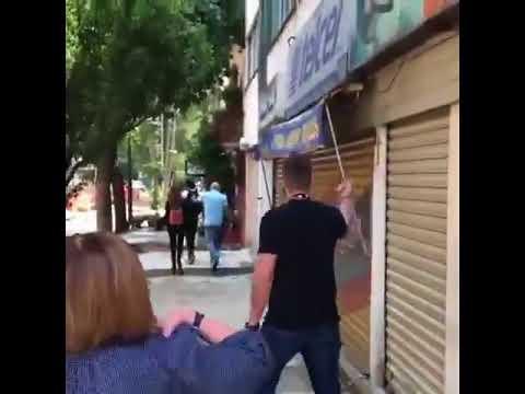 Jorge Rodríguez en México en enfrentado por un venezolano