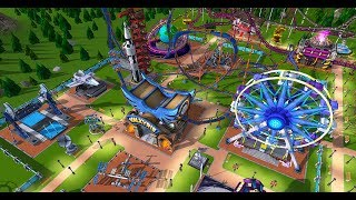 FIRST LOOK BUILDING CRAZY ROLLERCOASTERS amp; THRILL RIDES RollerCoaster Tycoon Adventures Gameplay
