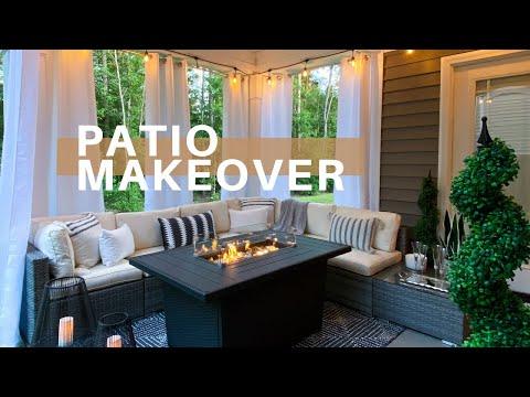 DIY PATIO MAKEOVER   Dollar Tree DIY Decor   Outdoor Decorating Ideas