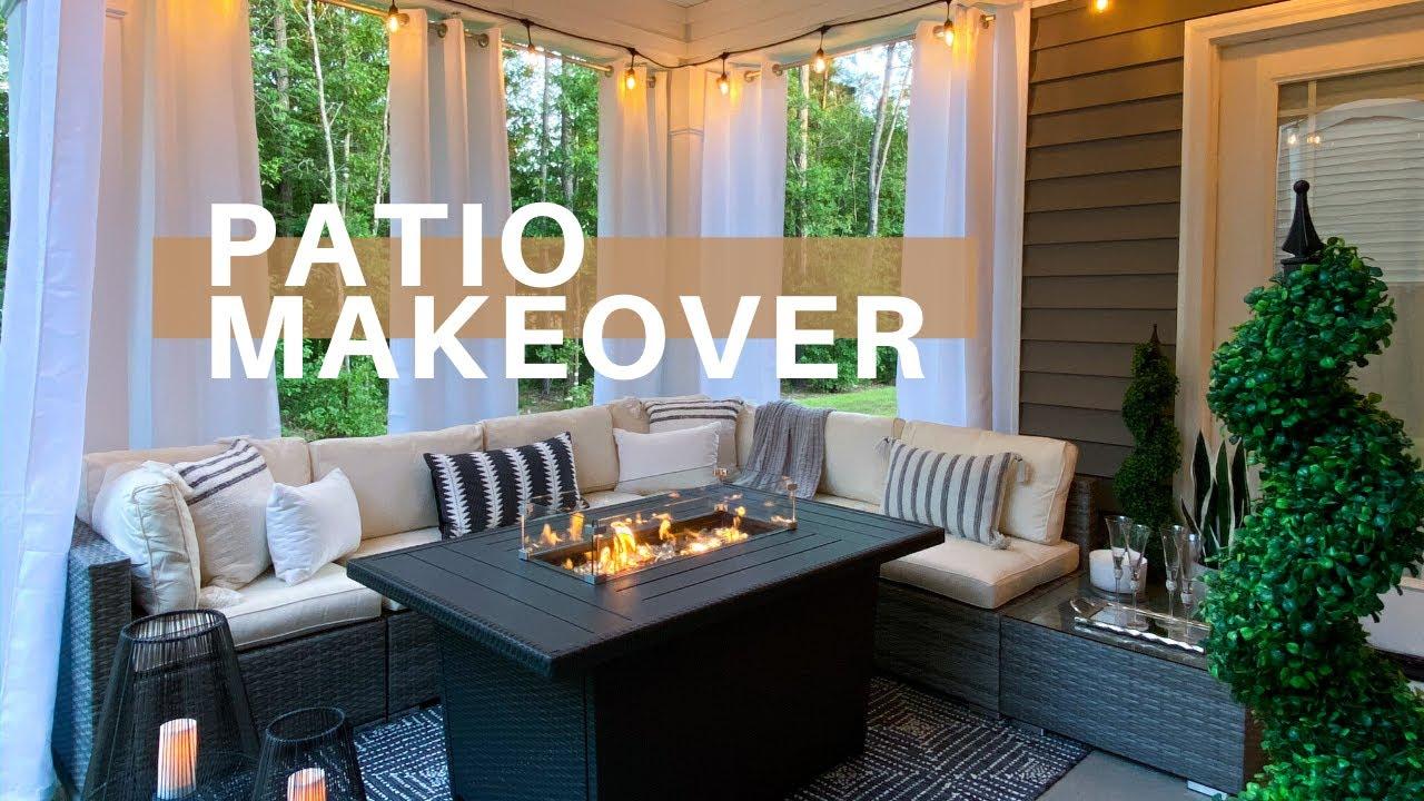 DIY PATIO MAKEOVER | Dollar Tree DIY Decor | Outdoor Decorating Ideas