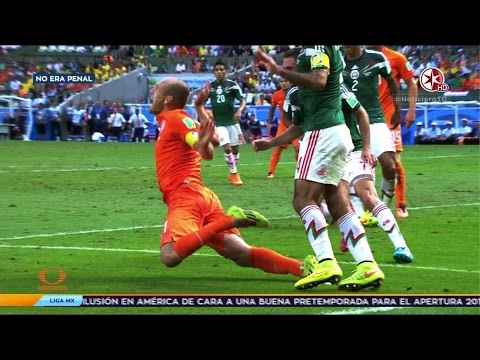 HOLANDA VS MEXICO  No Era Penal