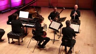 Mozart Quintet for Piano and Winds in E flat major, K 452 (1784) -  2nd Movement
