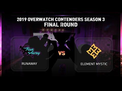 KoX) 2019.1.19 ContendersKR S3 Final Runaway - EM Match (Full Ver)