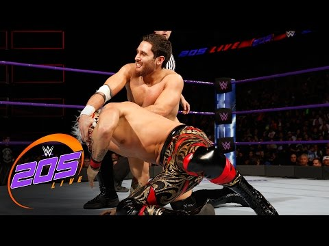 Lince Dorado vs. Noam Dar: WWE 205 Live: Feb. 28, 2017