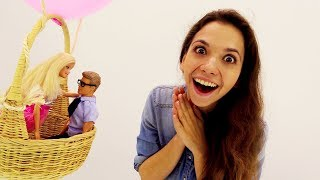 Сюрприз для Барби: предложение на воздушном шаре! Игры Барби