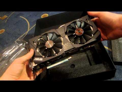 ASUS NVIDIA GeForce GTX970: Распаковка