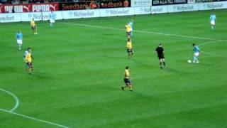Daniel Larsson 5-0 målet, MFF-Elfsborg