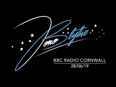 Jono Blythe, Close-Up Magician on BBC Radio Cornwall 28/06/19