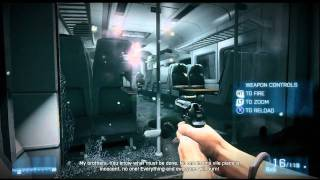 Battlefield 3: Mission 1 - Semper Fidelis - Xbox 360 Campaign Playthrough