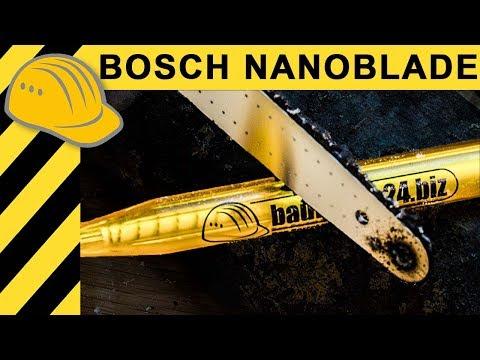 KLEINSTE KETTENSÄGE DER WELT! Bosch Nanoblade Test Easycut 12 | Spielzeug Oder Werkzeug?