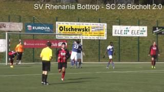 Saison 2013/2014 18. Spieltag SV Rhenania Bottrop - SC 26 Bocholt