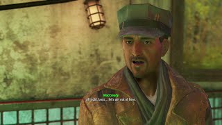 Fallout 4 - Recruiting MacCready Side Mission Med Tek