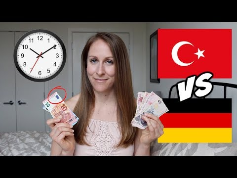 Living in Turkey vs Germany