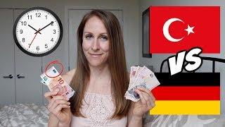 Living in Turkey vs Germany