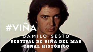 Camilo Sesto (en Vivo) - Amor mío qué me has hecho - Festival de Viña del Mar 2004 #VIÑA