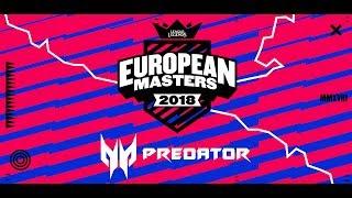 Origen vs mad lions @ eu masters semifinal
