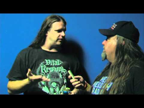 """GEORGE """"CORPSE GRINDER"""" FISHER of CANNIBAL CORPSE on BRUTAL BROADCAST"""