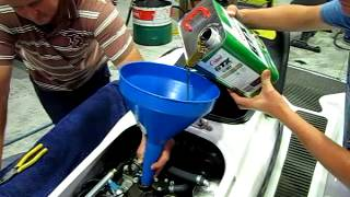 Jetski oil change in under 9 minutes