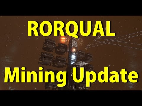 Rorqual Mining Update - Excavator Drone Yield and Safety - EVE Online