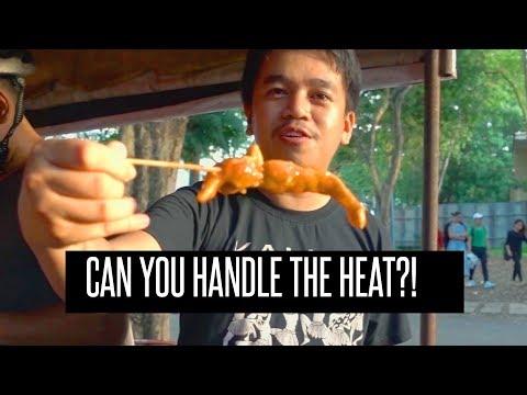 Spiciest Street Food Tempura in the Philippines! Exploring Dumaguete City, Philippines Ep 2/3