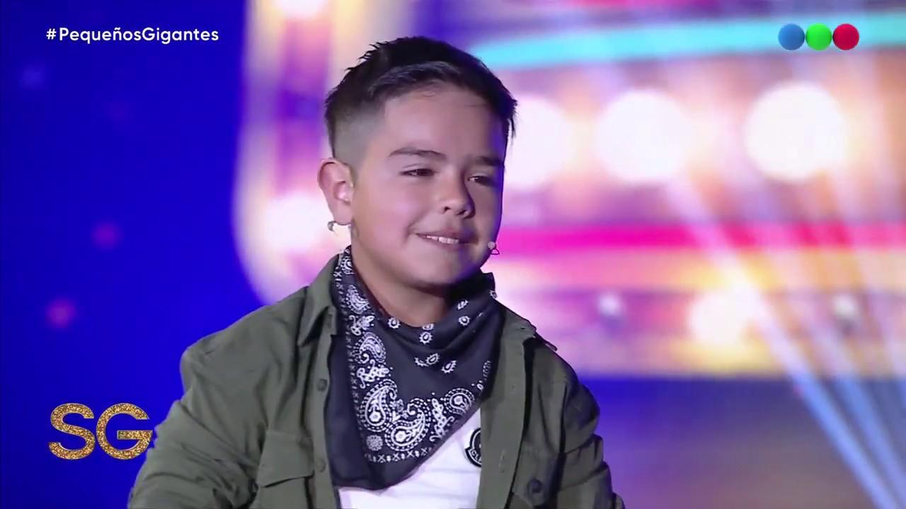 El nene que emocionó al jurado -  Susana Gimenez 2019