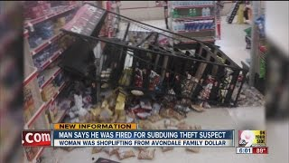 Family Dollar fires employee for stopping shoplifter