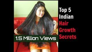 How to Grow Hair Fast: Top 5 Hair Growth Hacks Indian Hair Growth Secrets