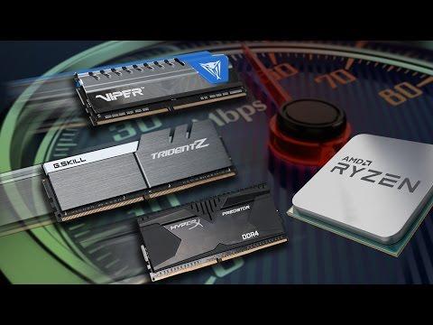 O impacto de RAM mais rápida em processadores Ryzen e Intel