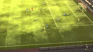 PES 2013 | Foul Behind The Referee