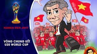 BỘ TRANH ĐẦY CẢM XÚC VỀ U20 VIỆT NAM TẠI SÂN CHƠI U20 WORLD CUP