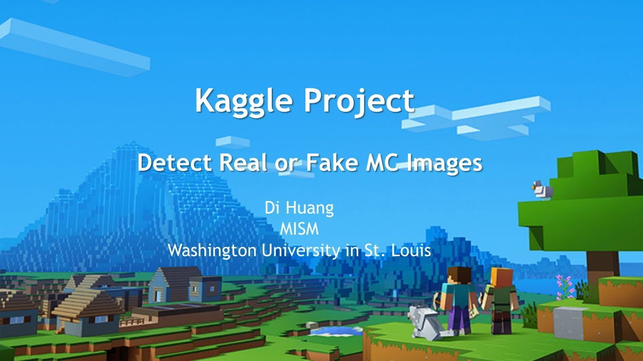 Real or Fake Minecraft Images - Python Keras Neural Network