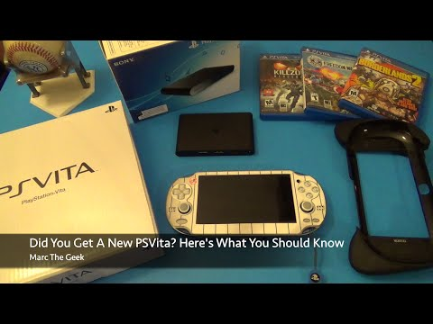 Did You get A New PSVita? Here's What You Should Know