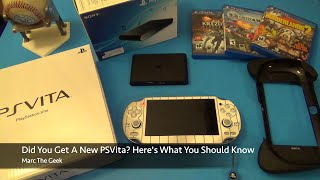 Did You get A New PSVita? Here