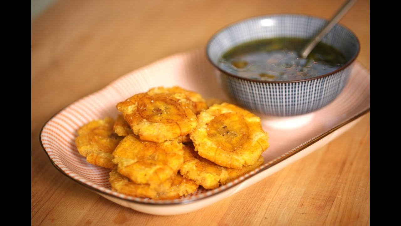 Louise S Fried Plantains With Mojo Sauce Youtube