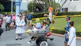 Muppet Mobile Lab Epcot 2016