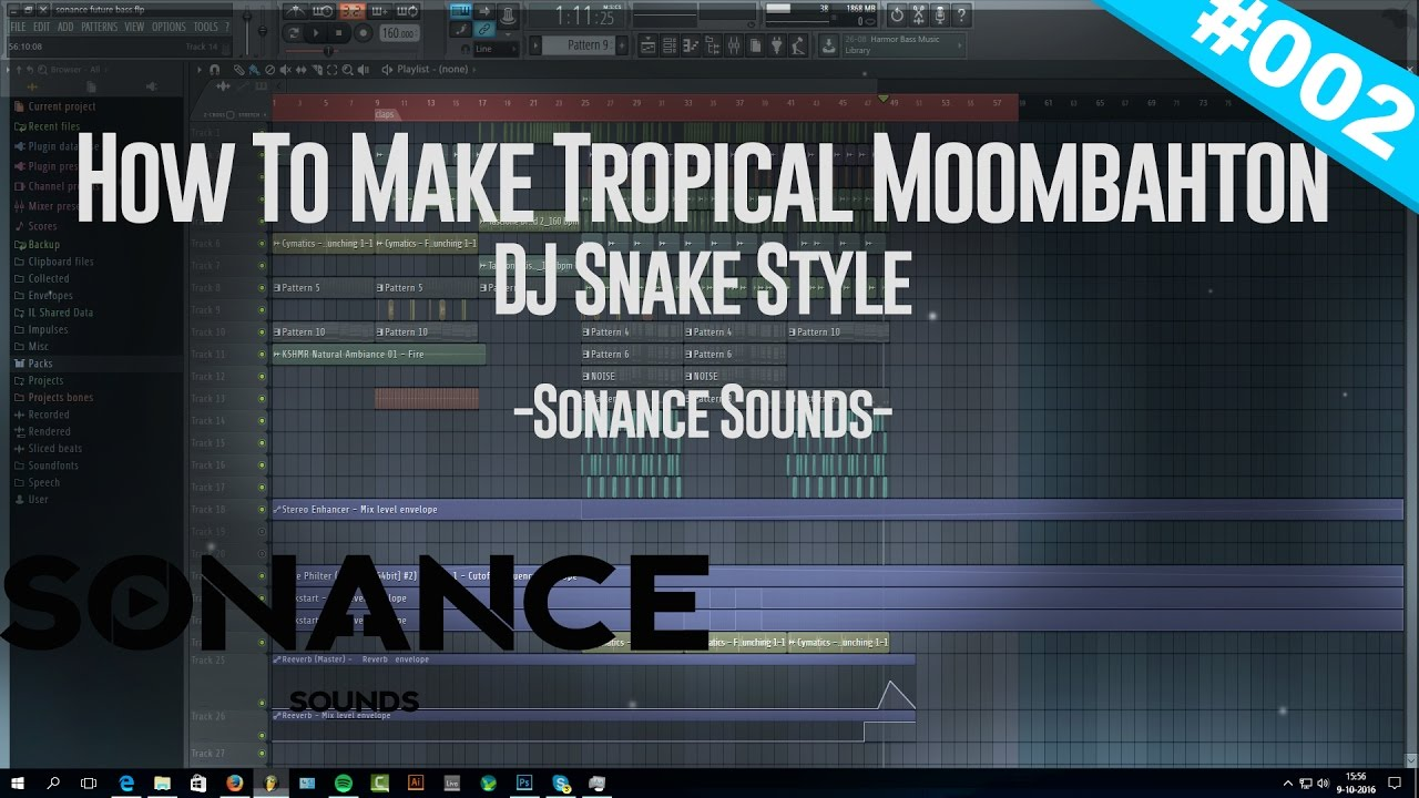 Tropical Moombahton Template DJ Snake Style #2 [Free FLP]