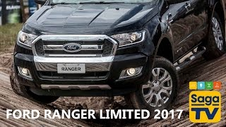 Test Drive Nova Ford Ranger Limited 2017 | Saga Drive | (Saga TV)