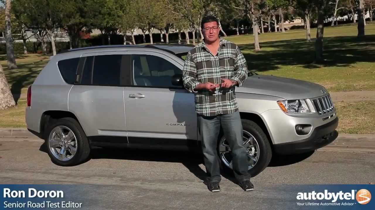 2012 Jeep Compass Test Drive Amp Suv Review Youtube